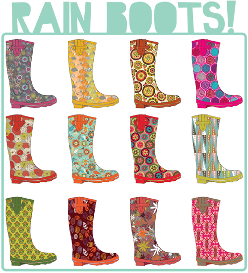 I Want That Patterned Rain Boots Project Magnificent Patterned Rain Boots